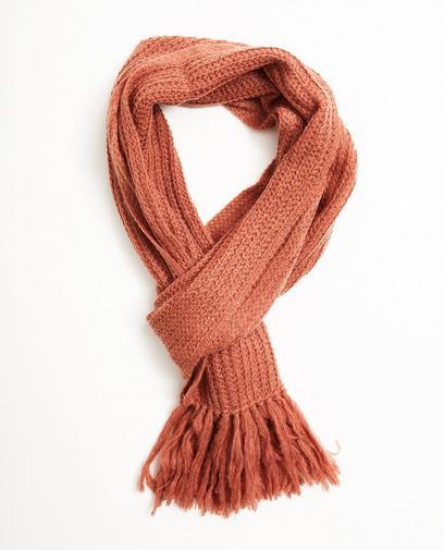 Sjaal van een luxe wolmix